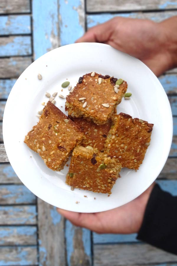 vegan protein flapjacks recipe