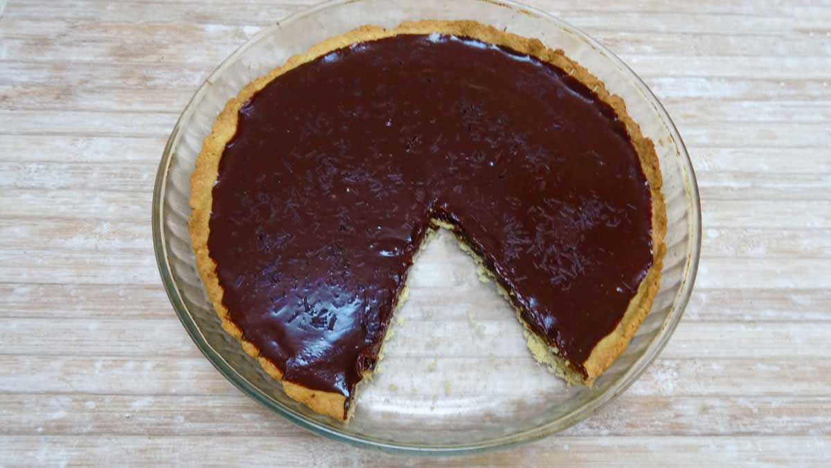 vegan chocolate tart recipe