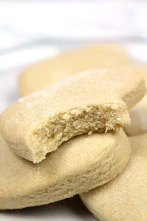 thumbnail image for vegan shortbread cookies