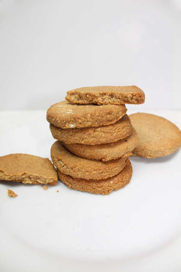 Vegan 3 ingredient peanut butter cookies!