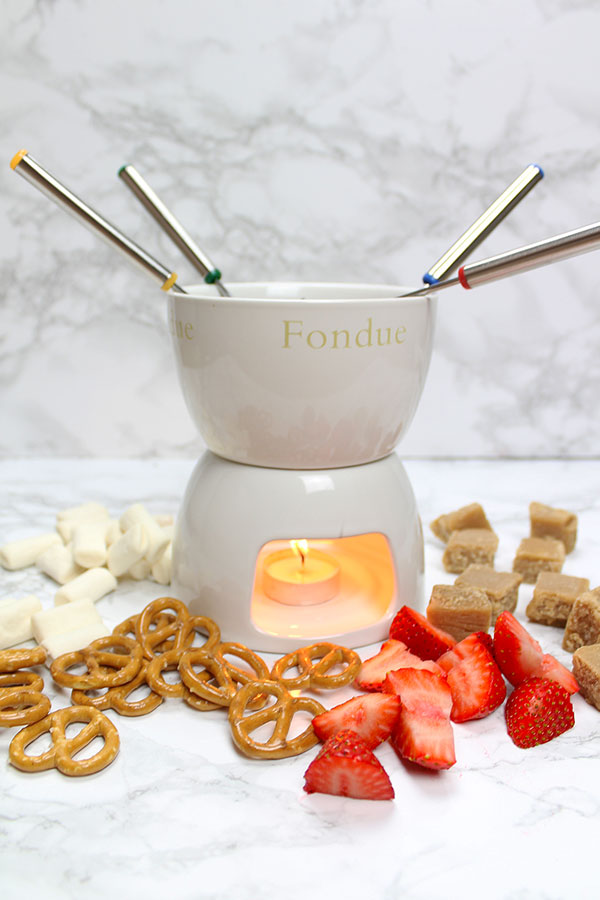 vegan chocolate fondue recipe!
