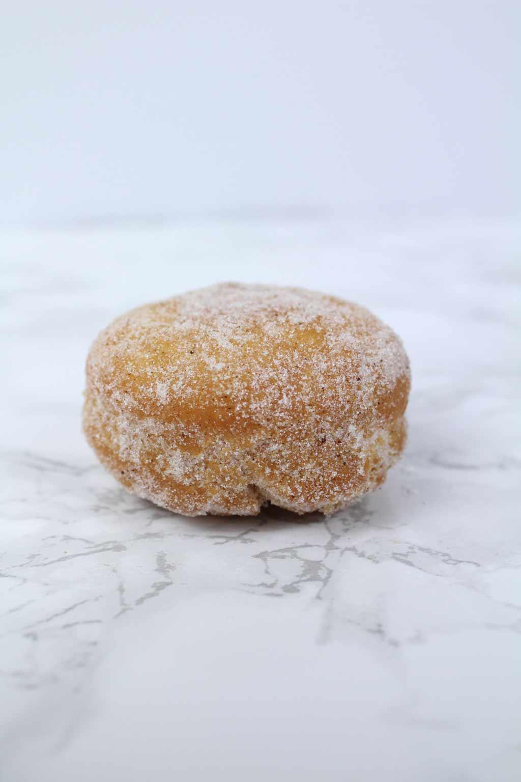 vegan cinnamon sugar donut