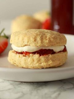 Thumbnail Image Of Scone On A Plate