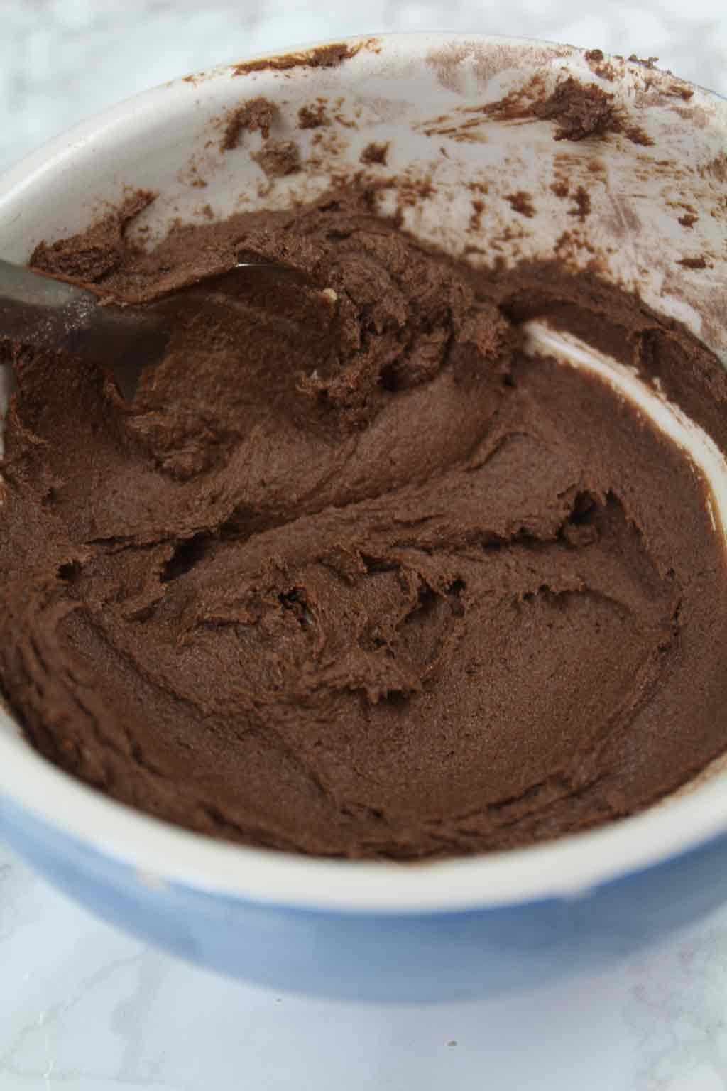 chocolate buttery mixture