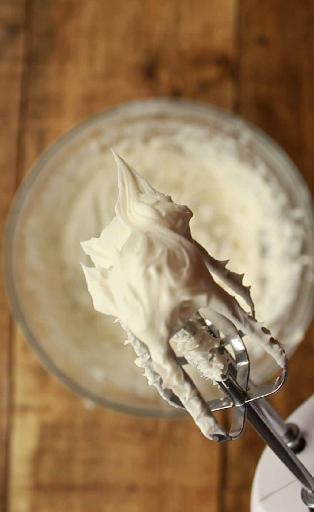 Filling On The End Of A Whisk