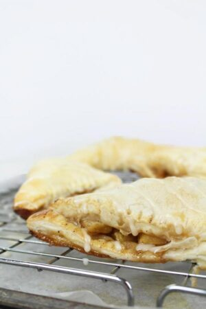 apple turnovers with glaze