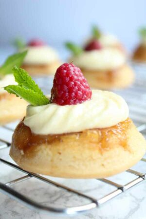 vegan pineapple upside down cupcakes