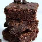 thumbnail for vegan black bean brownies