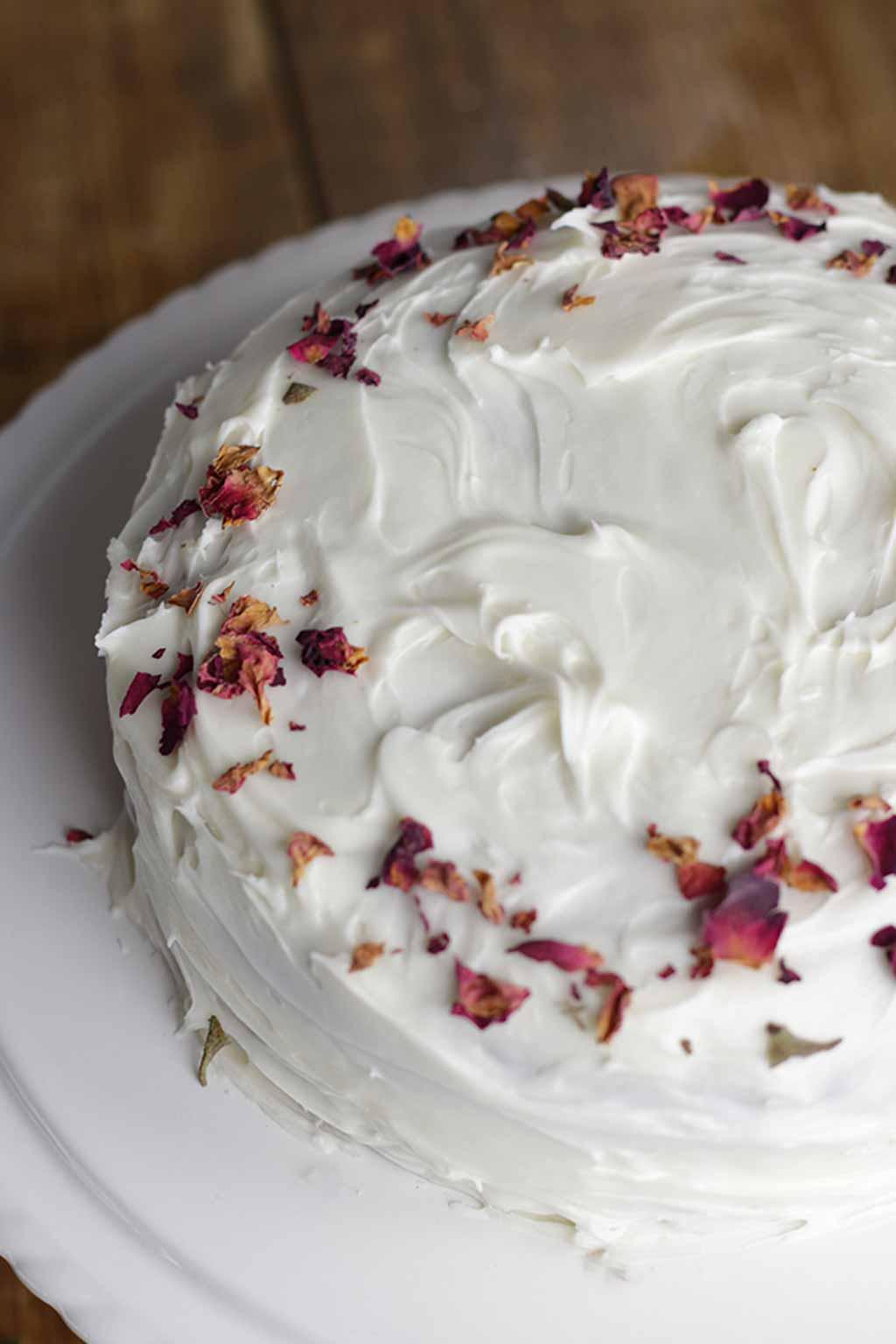 Close Up Of Red Velvet Cake