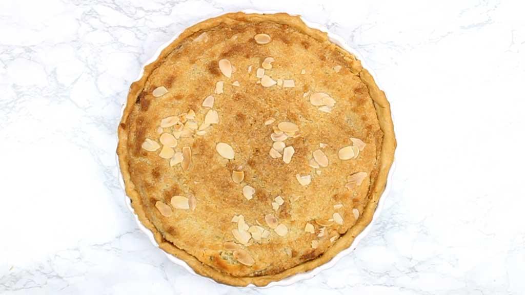 baked bakewell tart
