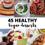 healthy vegan desserts thumb and pin