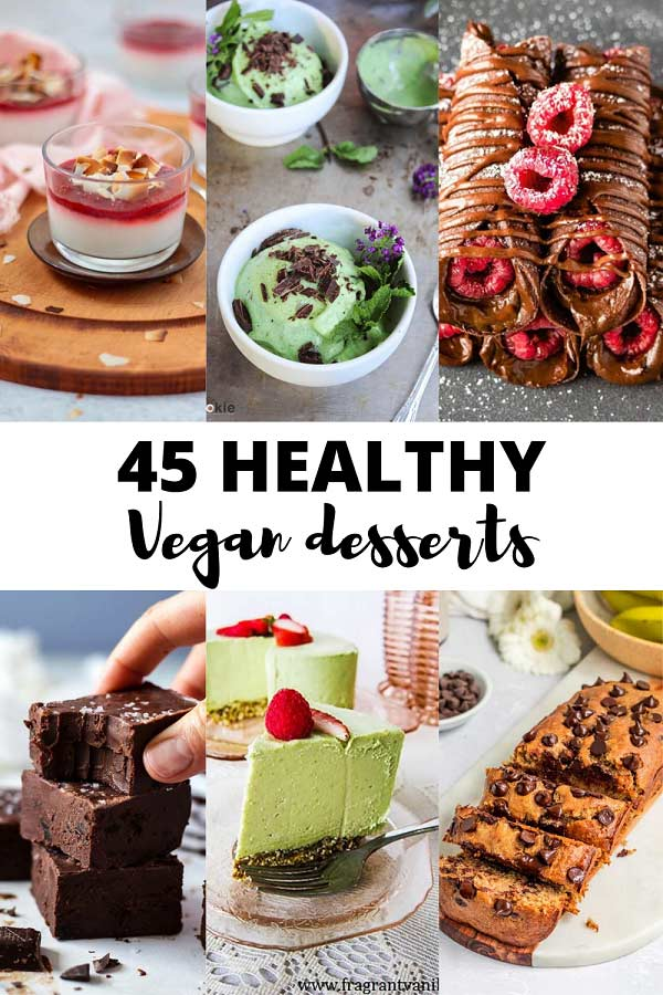 vegan desserts thumb and pin