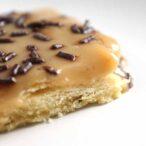 Thumbnail of a slice of caramel tart