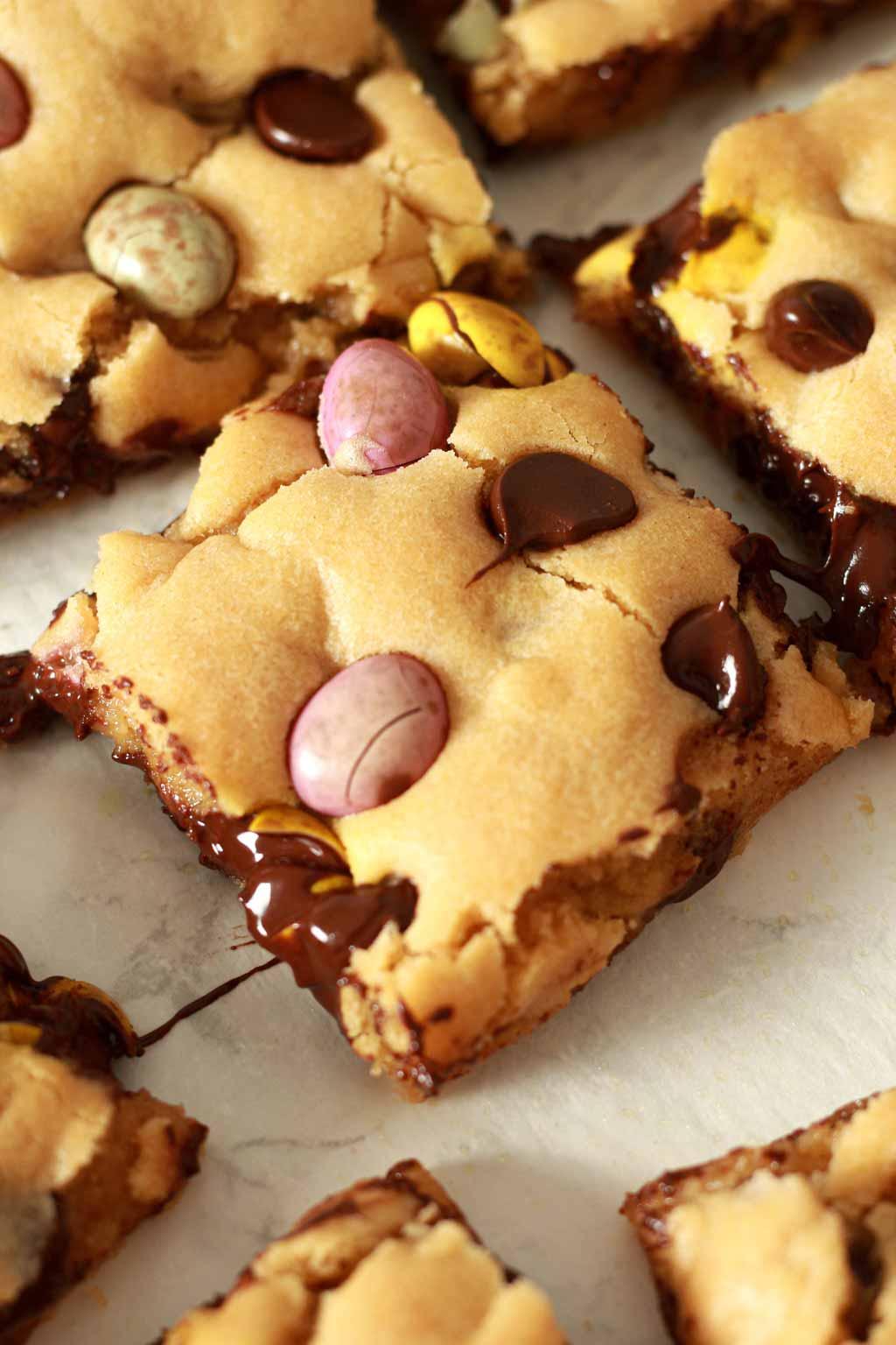 Gooey Squares Of Cookie