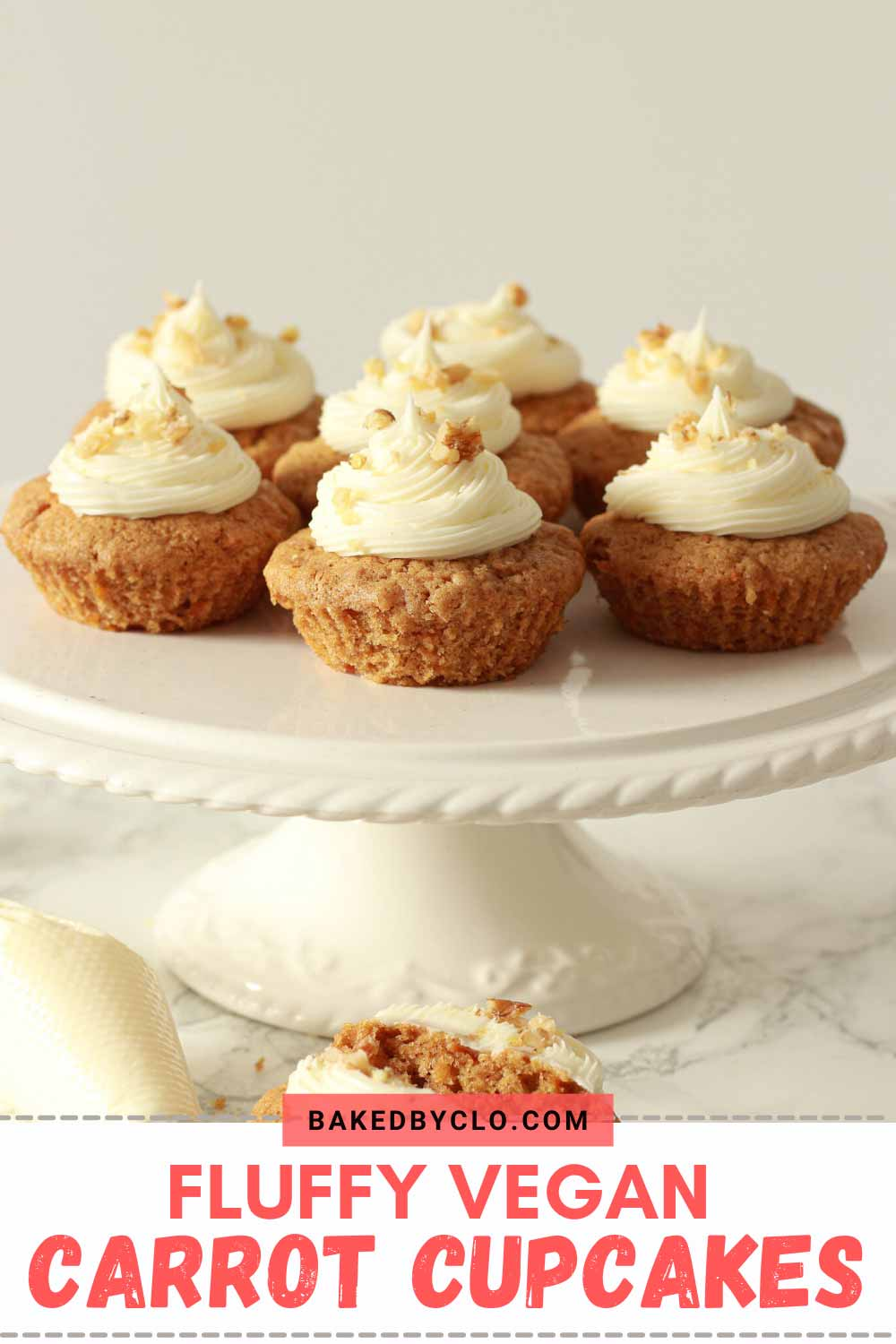 Pinterest pin for cupcakes