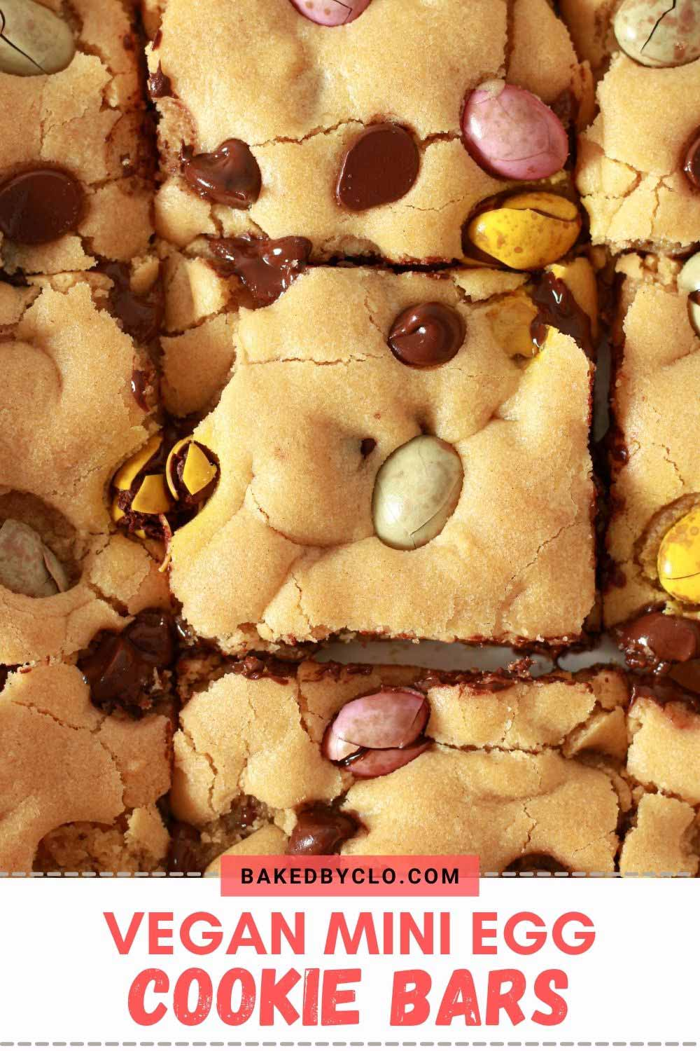 Pinterest Pin For Cookie Bars