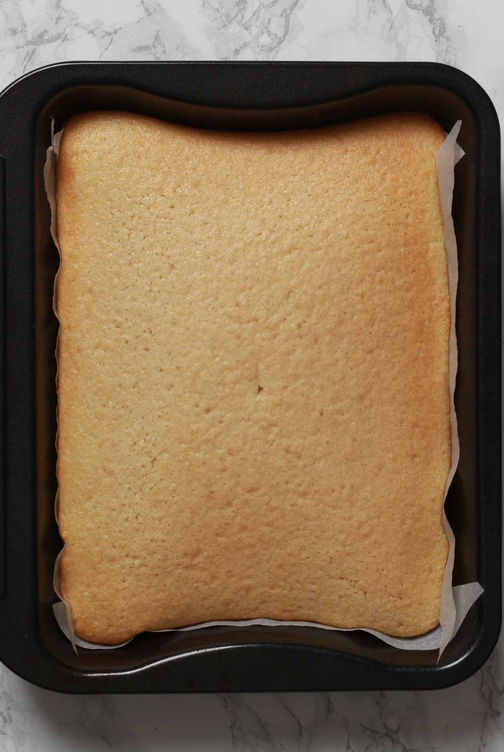 Baked Cake In Tray