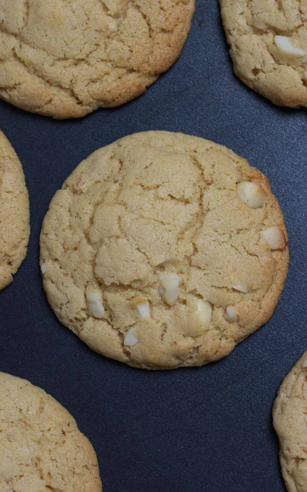 Baked Cookies On The Tray