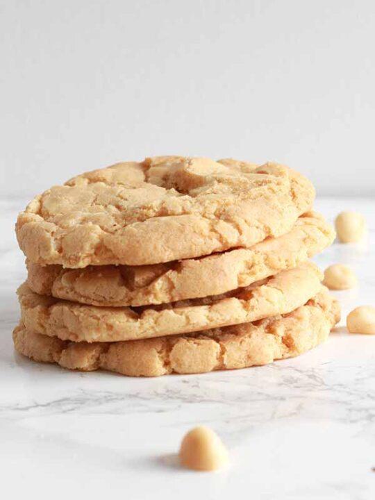 Thumbnail Image Of Stack Of Gluten Free Macadamia Cookies