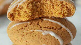 3 Pumpkin Cookies Stacked Thumbnail Image